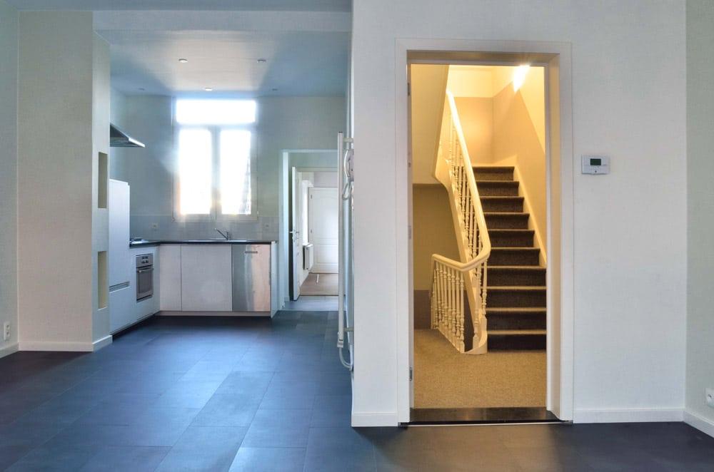 renovatie 2 appartementen | Lutgart Proost