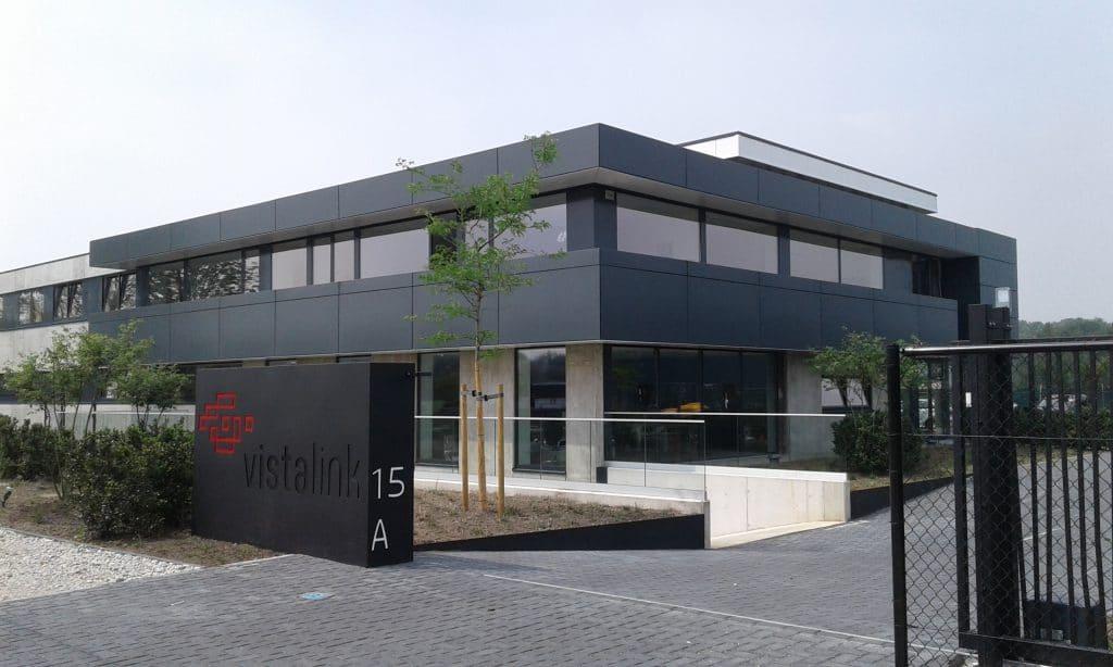 Bedrijfsgebouw voor Vista Link te Bonheiden